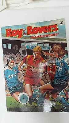 Roy of the Rovers Eastern Promise football soccer comic book by Ravette