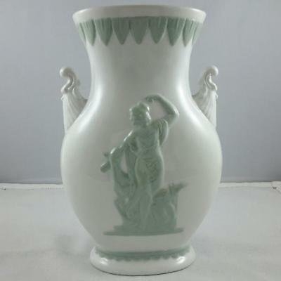 CLEARANCE!! Vintage Green Lady Grecian Art Deco Vase