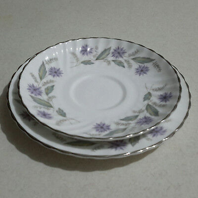 CLEARANCE!! Royal Adderley Replacement Side Plate & Saucer Set Charmaine Pattern