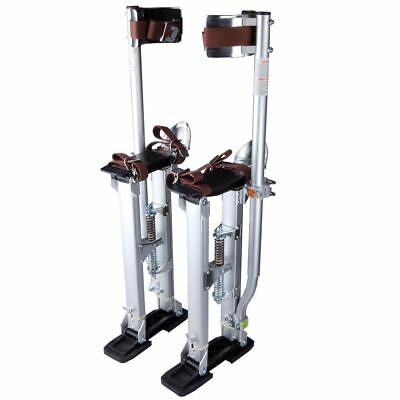 Drywall Stilts Aluminum Tool Stilt 24-40 Inch For Taping Painting Painter Silver