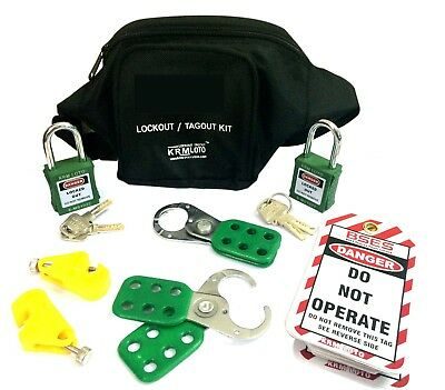 Krm Loto - Osha Electrical And Mcb Lockout Tagout Pouch Kit
