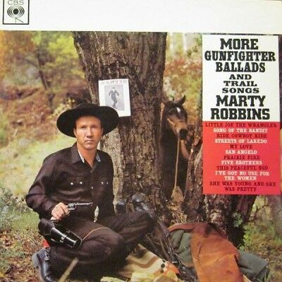 Marty Robbins - More Gunfighter Ballads And Trail Songs (Vinyl)