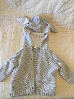 Seed Heritage Baby Hooded Cardigan 3-6 Months