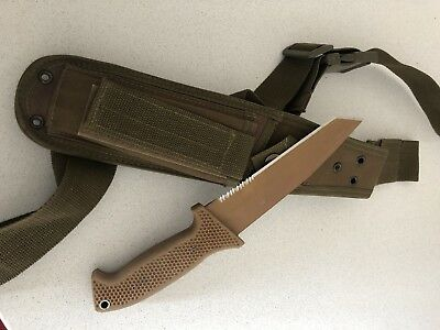 CRKT M60-14NK SOTFB Tanto Special Operations Tactical Fixed Blade Knife Black