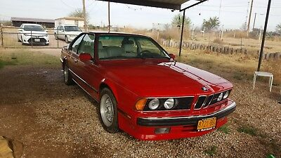 1988 Bmw M6  Less Than 10K Miles - Only 2 Owners