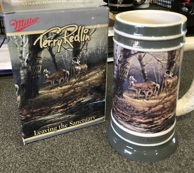 Terry Redlin Collector Stein - Leaving the Sanctuary