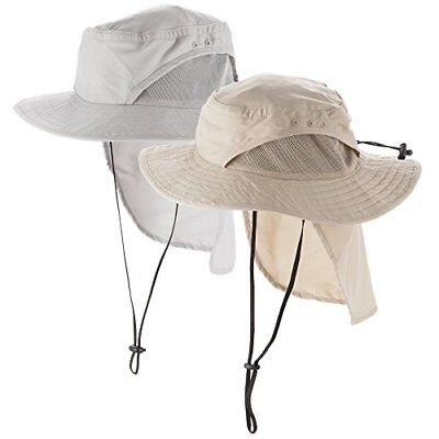 Boonie Men s  Women s Fishing Safari Sun Hat and Foldable Neck Flap 3.5
