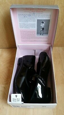 ABT Spotlights Black TAP Shoes Size 9 Toddler 6.5""