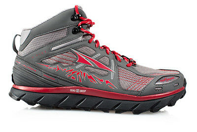 Altra Lone Peak 3.5 Mid Mesh Mens Shoes Red