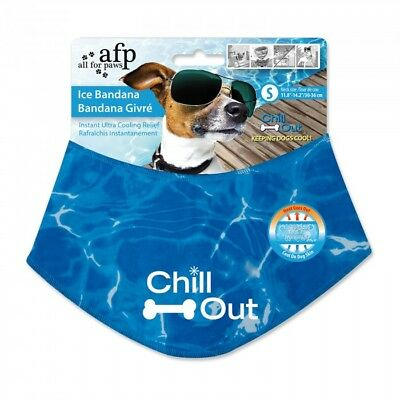 All For Paws Cooling Bandana Small, Medium, Large, X-large.