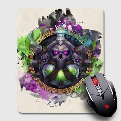 Dead Knight World of Warcraft WoW Mousepad Large Gaming Mouse Mat Desk Pad x4