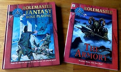 Rolemaster Fantasy Role Playing (HC)  & The Armory (NEU) (22-12)