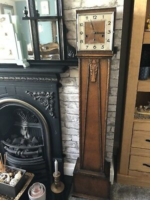Art Deco Grandmother Clock
