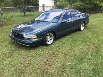 1996 Chevrolet Impala SS 2 Owner Runs Great! 1996 Chevy Impala SS