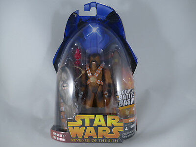 Star Wars Revenge Of The Sith Wookiee Warrior Battle Bash Rots Moc
