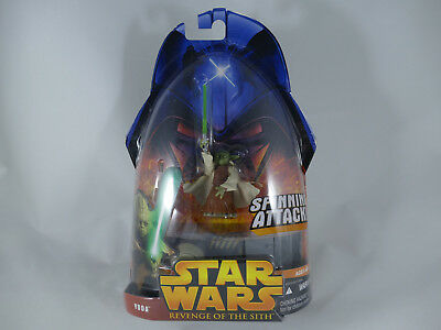 Star Wars Revenge Of The Sith Yoda Spinning Attack Rots Moc