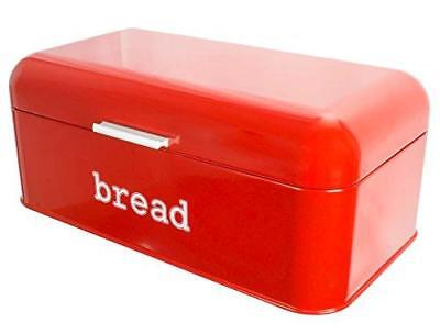 Bread Box for Kitchen Counter - Stainless Steel Bread Bin Storage Container For