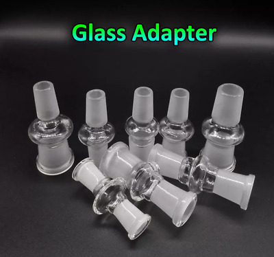 Glass Adapters, F-F, M-F, M-M, various sizes, Free Shipping