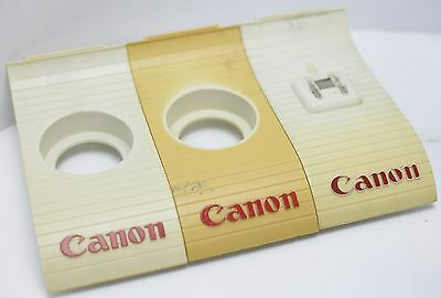 Lot Of Three Vintage 1980's Canon Lens/Flash Unit Dealer Display Stands