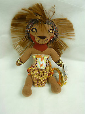 Disney The Lion King The Broadway Musical Collectable Plush Simba Toy With Tags