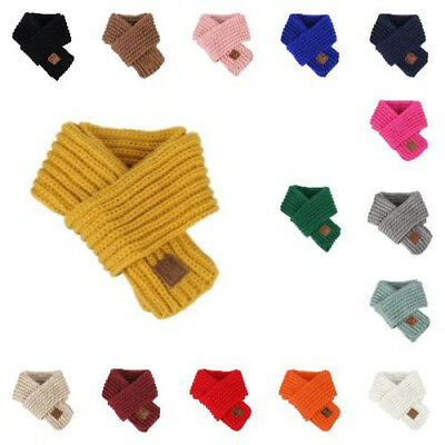 Knit Scarf New Fashion Autumn Winter Neck Warmer Outfit For Baby Boys Girls