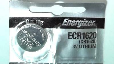 1x Battery Energizer ECR1620 CR1620 1620 3V Lithium Watch Button Cell