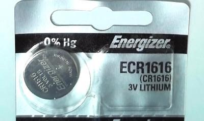 1x Battery Energizer ECR1616 CR1616 1616 3V Lithium Watch Button Cell