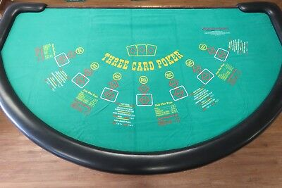 Genuine 3 Card Poker Layout from Shuffle Master