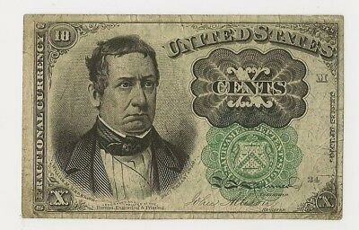 Fr #1264 10 Cents Fifth Issue Fractional - Fine - Priced Right!