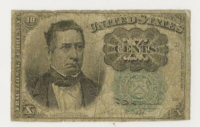 Fr #1264 10 Cents Fifth Issue Fractional - Good - Priced Right!