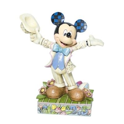 Mickey Mouse mit Hut Figur Jim Shore Disney Traditions by Enesco