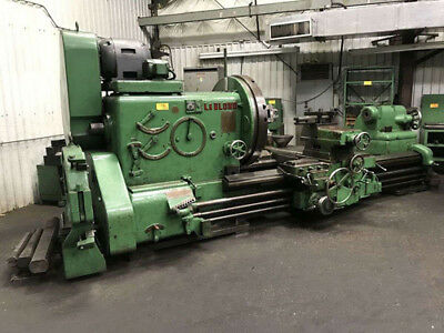 "60"" Swing x 100"" Center Leblond Heavy Duty Engine Lathe Metal Turning Machine"