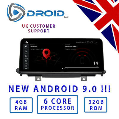 "BMW F20 F21 1 Series Android 7.1 Quad Core 10.25 "" Car DVD Car Radio GPS"