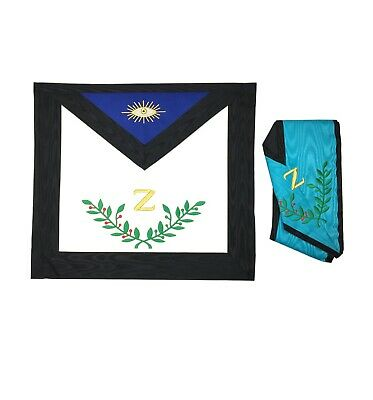 Masonic Scottish Rite 4th Degree Apron and Collar Set