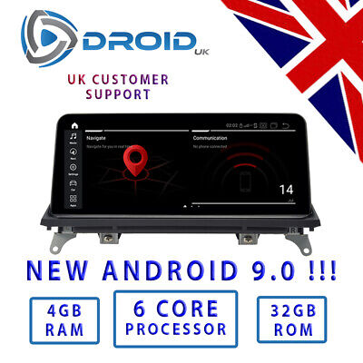 "BMW F15 E70 E71 (X5 X6) Android 7.1 Quad Core 10.25 "" Car DVD CCC CIC NBT"
