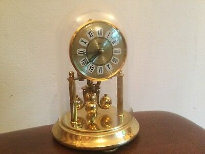 Vintage  Kern Midget 400 Day, anniversary, Torsion clock. Working Original Cond