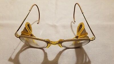 Vintage Fendall 6 1/2 Safety Glasses | Steampunk | (7)