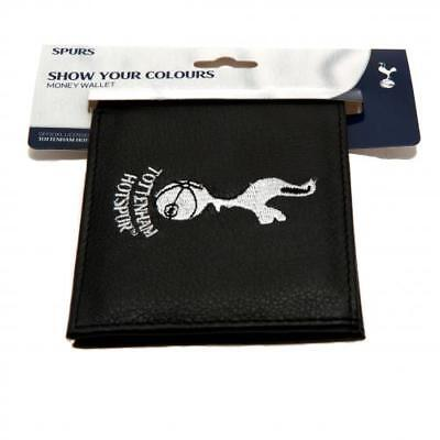Tottenham Hotspur Fc Club Crest Embroidered Pu Leather Money Wallet Xmas Gift