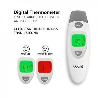 QQCute Digital Infrared Forehead and Ear Thermometer Electronic Medical fever