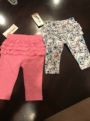 Baby Cat and Jack Leggings Pants New With Tags Size 0-3 Months