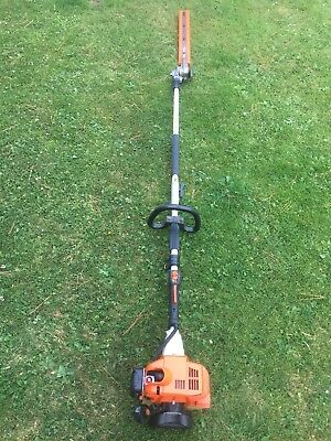 Stihl KM85 Engine With HL-KM 135° Long Reach Hedge Trimmer Combi Attachment