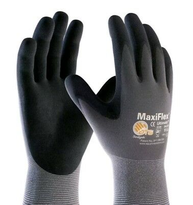 PIP 34-874 MaxiFlex Ultimate Nitrile Micro-Foam Coated Gloves Large