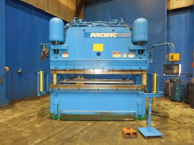 350 Ton x 10' Pacific CNC 2 Axis Hydraulic Press Brake Metal Bending
