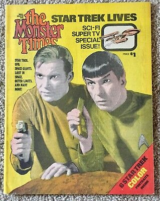 Star Trek Lives-The Monster Times Sci-Fi Super TV Special Issue #1-VF condition