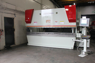 320 Ton x 12' Accurpress 732012  CNC 2 Axis Hydraulic Press Brake 2002