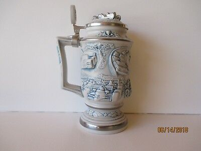 """Vintage 1989 Avon """"racing Car Stein"""" - #81047 - New - Handcrafted - Free Shpg"""