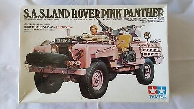 Tamiya 35076 1/35 British SAS Land Rover PINK PANTHER Model Kit