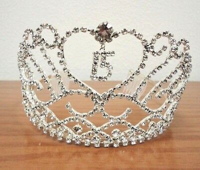 Heart and Charm Tiara Sweet 15 Quince Quinceanera  #CH-2114