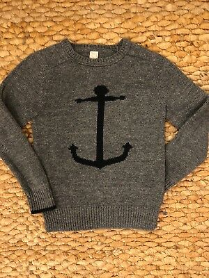 Crewcuts Boys Size 8 Anchor Sweater