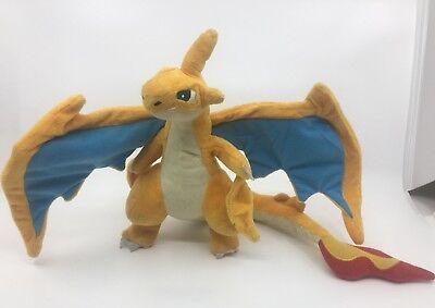 "Pokemon Center 10"" Charizard Plush ~ Rare Stuffed Toy Figure Doll Charmander"